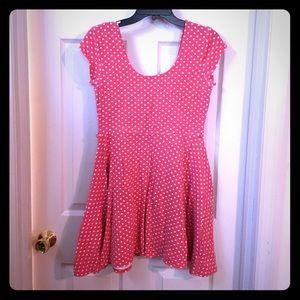 Polka Dot Pinup Dress